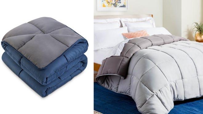 Microfiber fabric makes this blanket super soft.