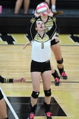 Madi Sipe is a setter for the Abilene High School volleyball team.