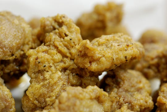 Loyd Have Mercy features Southern home cooking like these fried chicken gizzards.