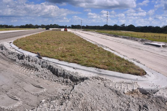 The road linking Palm Bay's Interstate 95 interchange with Babcock Street may be substantially complete by Dec. 2.