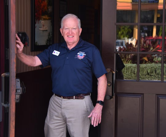 Rear Admiral Jim Hart ( ret.)  is president of the Space Coast Honor Flight, and Honor Flight has been nominated for VRA Organization of the Year.