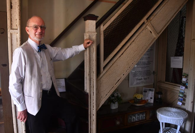 John Daly, an attorney who works for Brevard Legal Aid helping people with family law issues, has been instrumental in the effort to save the historic Green Gables site.