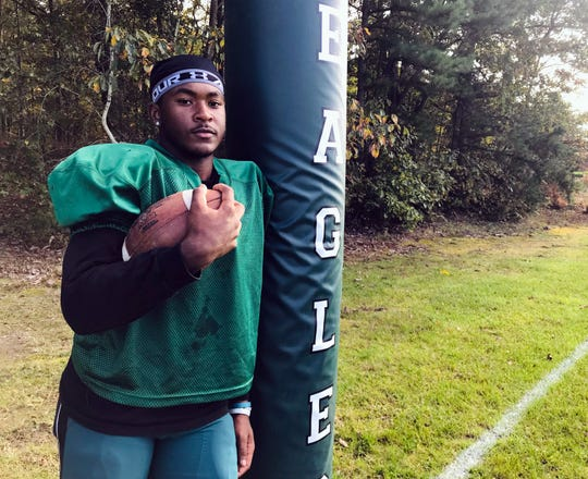 """Winslow senior Marcus Young is the """"heart and soul"""" of the Eagles."""