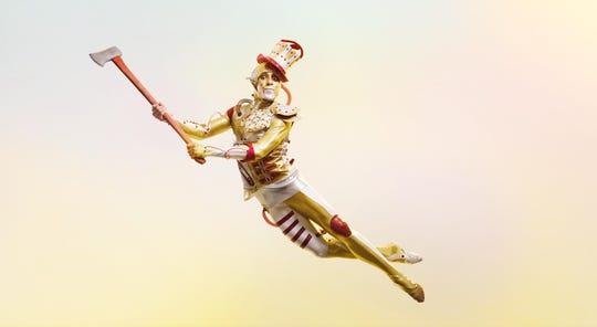 Cincinnati Ballet corps de ballet member Taylor Carrasco as Tin Man.