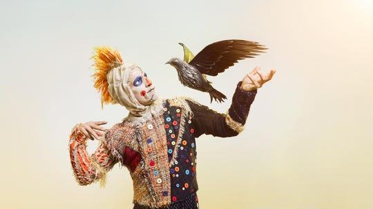 Cincinnati Ballet principal dancer Cervilio Miguel Amador ad Scarecrow.