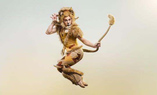 Cincinnati Ballet corps de ballet member Michael Mengden as Lion.