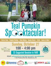 The Willow School's Teal Pumpkin Spooktacular!