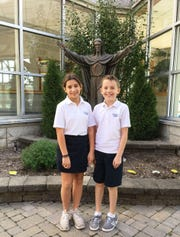 Congratulations to St. Francis Cathedral School (SFCS) 4th & 5th Grade Spelling Bee winners Amelina Spallino who won first place and Thomas Mullins who took second place. SFCS is located in Metuchen and educates children from PreK 3 through 8th grade.