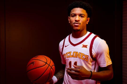 Iowa State redshirt senior guard Prentiss Nixon poses for a photo during media day for Iowa State mens basketball on Wednesday, Oct. 16, 2019 in Ames.