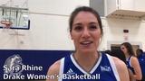 Sara Rhine, Drake is ready to take the next step in 2019-20