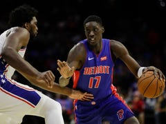 Detroit Pistons' Tony Snell, Christian Wood stand out in preseason loss to 76ers