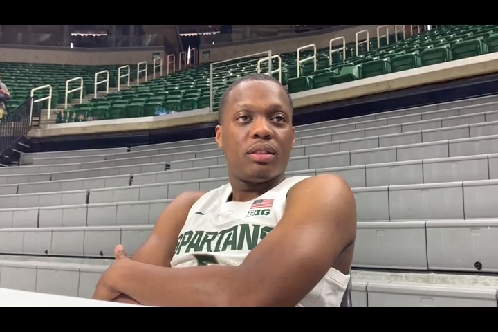Aaron Henry's response to Tom Izzo's outburst shows he was listening