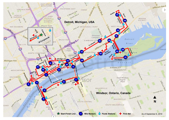 Detroit marathon 2019: What to know, where to park