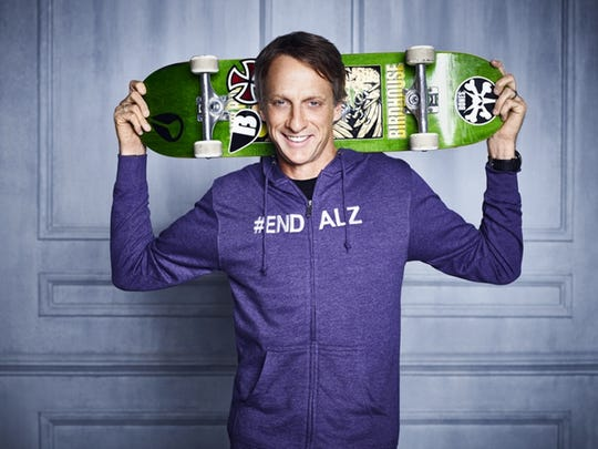 Tony Hawk is to speak at an upcoming gala to support the work of the Alzheimer's Association - Greater Michigan Chapter.