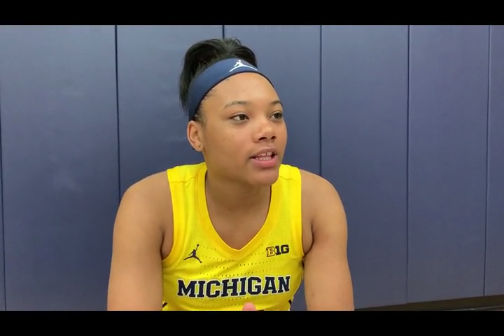 Naz Hillmon ready to be star for Michigan women's basketball