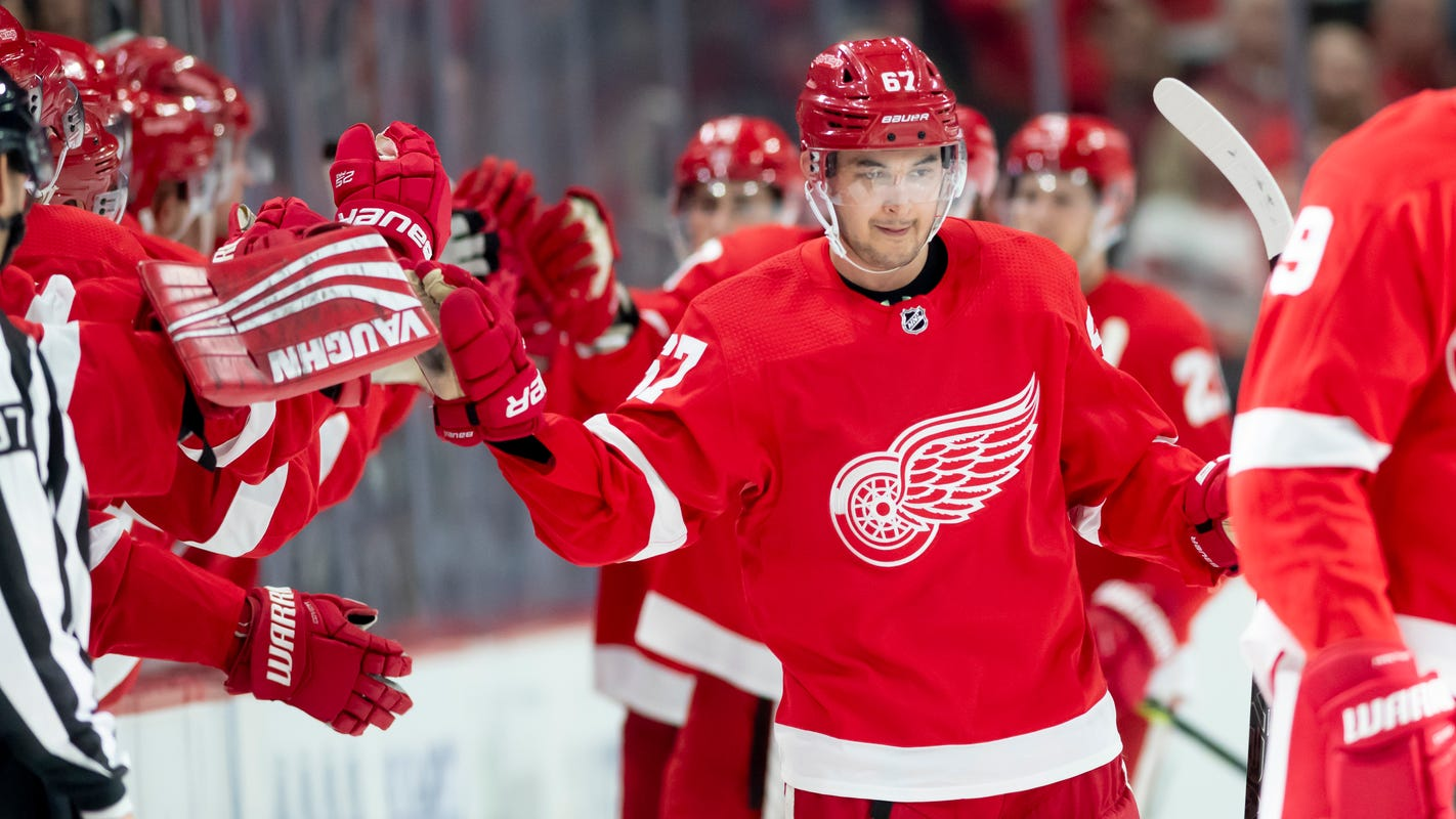 Red Wings' Taro Hirose excited about returning to Calgary as an NHL player
