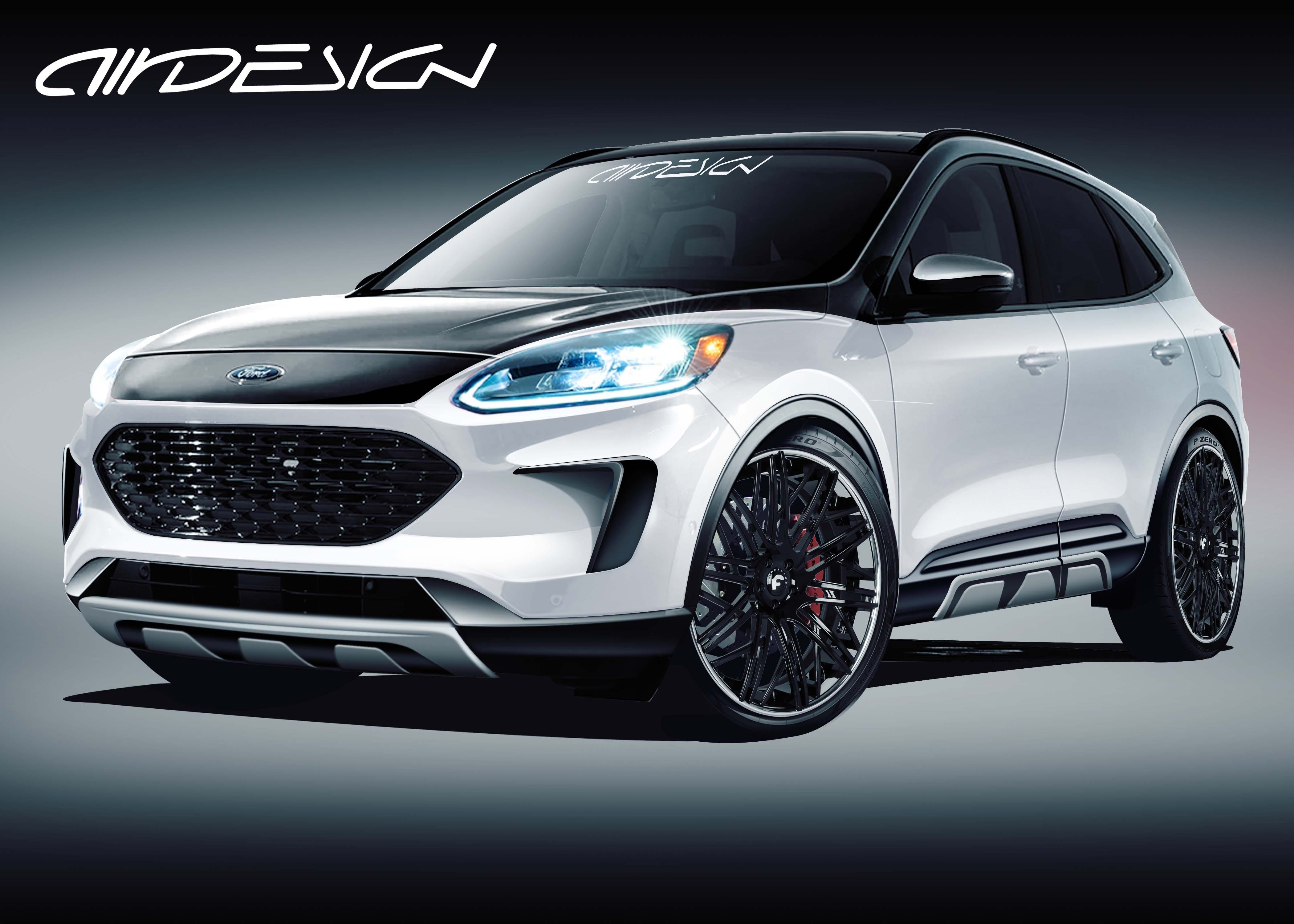 Forget Stangs Hot Ford Suvs To Crash Sema Show