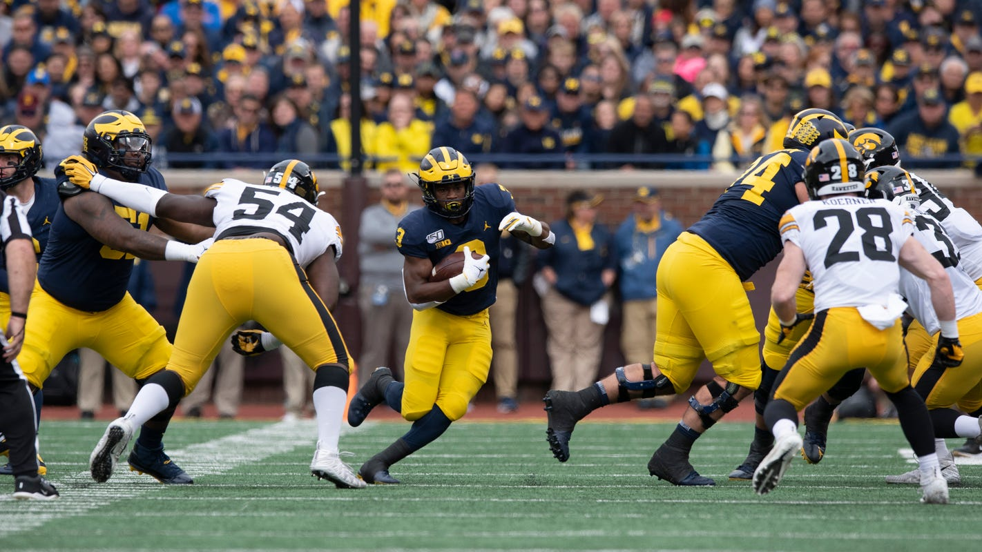 Getting physical: Practice change paying off for Michigan linemen