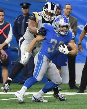 Former Lions running back Zach Zenner reportedly will join the New Orleans Saints.
