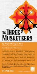 """The Three Muskateers"" at UE's Shanklin Theatre opens Friday and runs this weekend and next."
