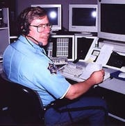 Frank Quick's career a dispatcher with the city of Fond du Lac began in 1987 and following the merging of the city and county dispatch centers in November 2003, he became an employee of the county.