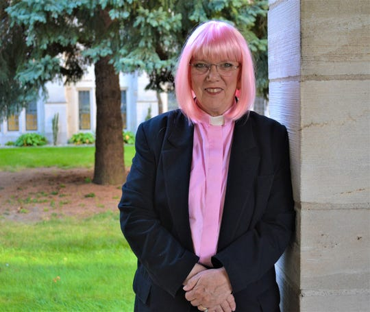 Pastor Jody Rice joined the 3.5 million American women living with breast cancer when she was diagnosed on Feb. 28. She often wears a pink wig as a declaration of her celebration of life despite cancer. October is Breast Cancer Awareness month, and Rice is one of the many voices around the country encouraging women to have mammograms.