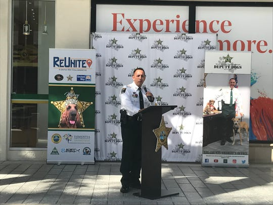 Lee County Sheriff's Office opens a new satellite office at the Bell Tower Shops in Fort Myers on Wednesday, Oct. 16, 2019.