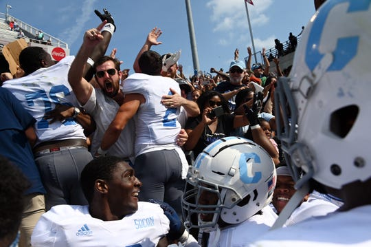 The Citadel has an upset of Georgia Tech on its resume in 2019.