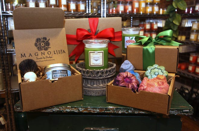 A gift bundle from Magnolia Scents