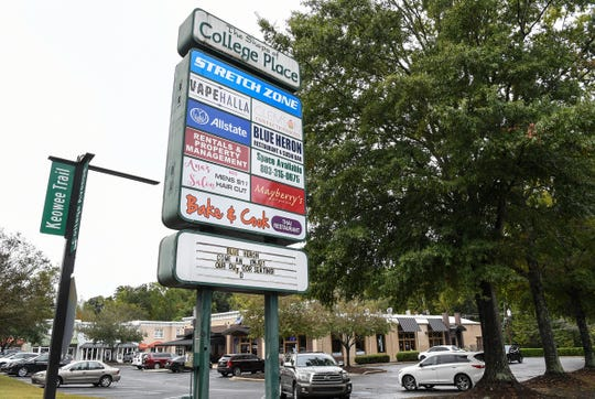 Tennants in The Shops of College Place were told they have until January 2020 to vacate their rented spaces. A new housing development is planned for the space near Clemson University.