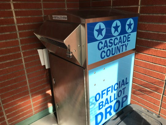 This ballot drop-off in the Courthouse Annex will be staffed to ensure that voters dropping off multiple ballots register with the Elections Office.