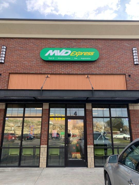 MVD Express has opened a store in Billings.