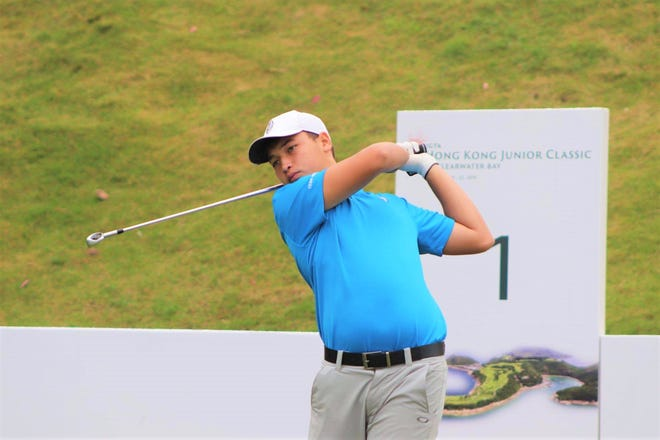 Ivan Sablan, a 15-year-old junior at Father Duenas Memorial School, won the World Amateur Golf Ranking Championship title on Guam Oct. 12-14 at the Country Club of the Pacific.