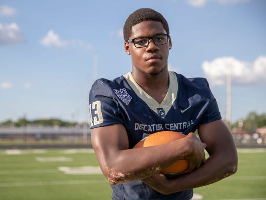 Decatur Central senior Kenny Tracy