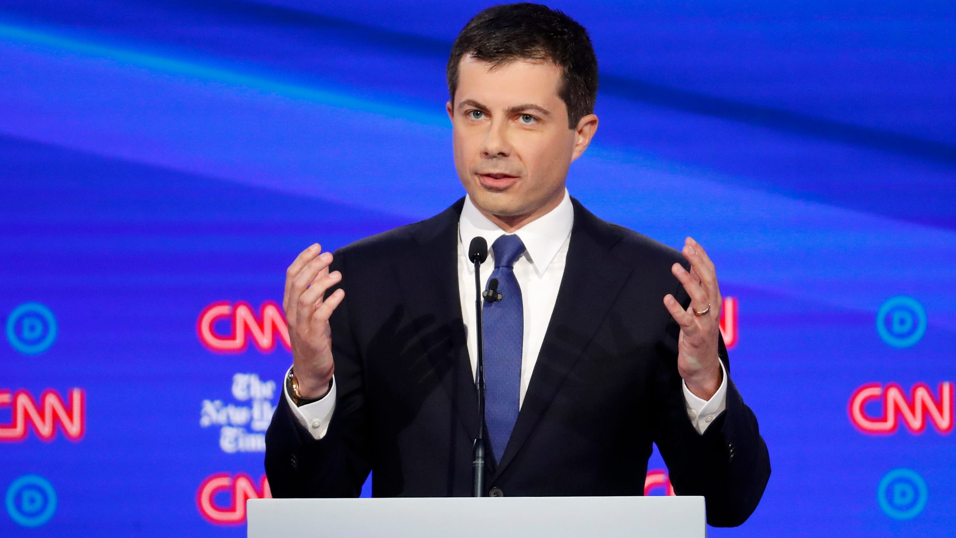 Live debate updates of Buttigieg's performance
