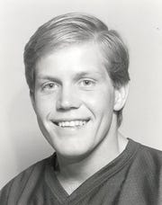 Brian Kelly was a two-time captain as a linebacker on the Assumption College Football team