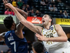 After his rookie debut, what's next for Goga Bitadze? NBA transition 'going to take some time'