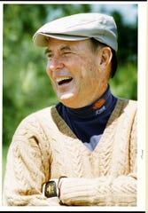 1993: Golf course architect Pete Dye.