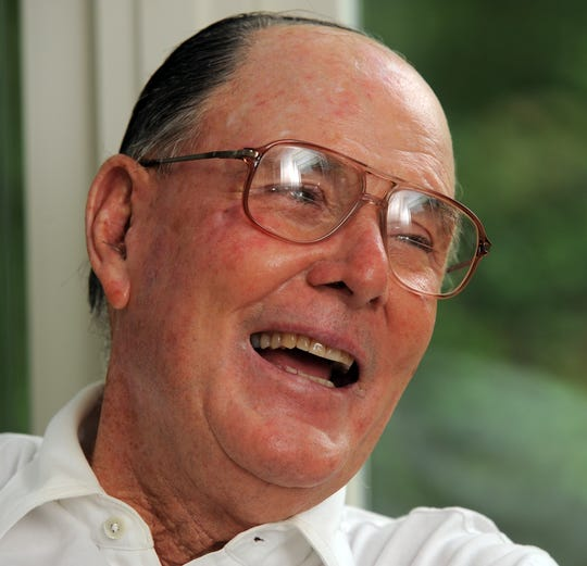 2008: Golf course designer Pete Dye was inducted into the World Golf Hall of Fame in St. Augustine. Florida.