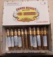 Randall Fox, 48, received a box of cigars in 2003 for his son's birth. He still has half a box. The Vols fan committed to smoking the rest of the cigars after UT victories against Alabama.