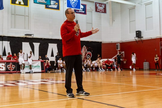 Injuries have left coach Bob Marlin's UL basketball team shorthanded heading into the 2019-20 season.