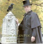 PhilKinzel as Edgar Allan Poe.