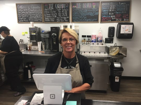 Cheryl Johnson is the co-owner of Cup & Cone in Lexington.