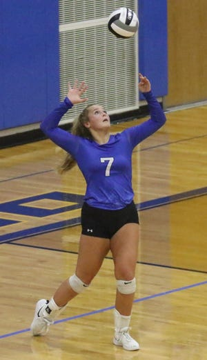 Ontario's Halle Ciroli was named first team All-MOAC for her fine volleyball season.