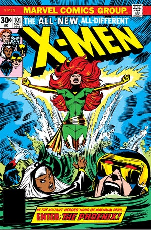 "Chris Claremont wrote the famous ""Phoenix"" saga."