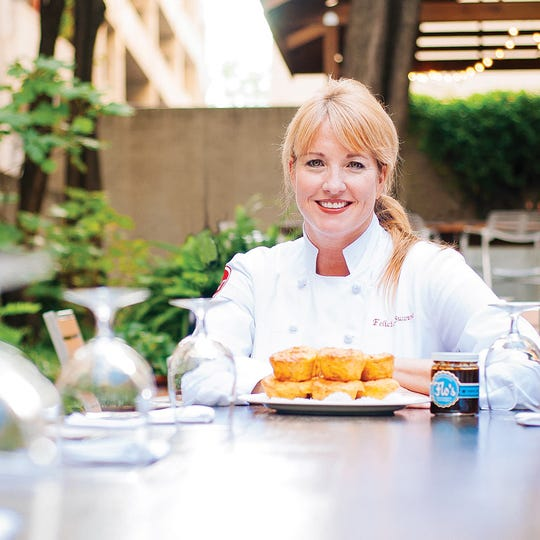 Felicia Willett is the chef and owner of Felicia Suzanne's restaurant in downtown Memphis.