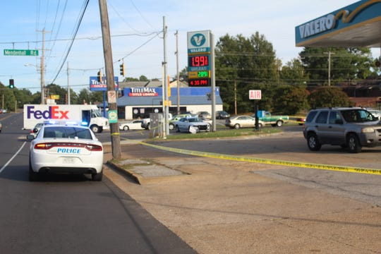 A man was shot and critically injured at a Valero gas station on Wednesday on Mendenhall road and Knight Arnold road, according to police.