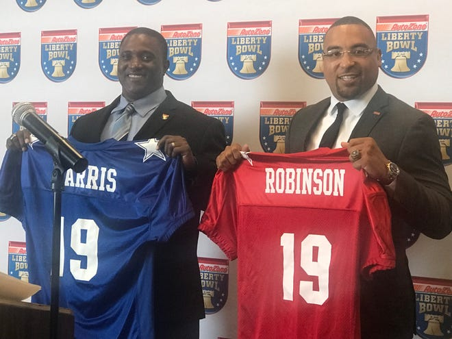 Douglass coach Preston Harris and Fairley coach Gene Robinson on Wednesday were named coaches for the AutoZone Liberty Bowl High School All-Star game.