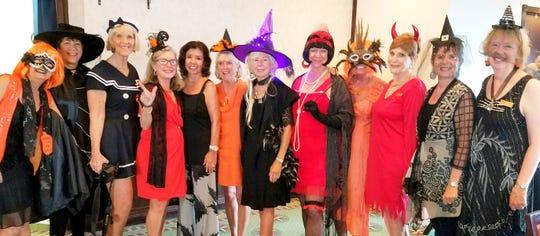 JoAnn Brandeau, Pam Cote, Susie Walsh, Janet Dickens, Marge Superits, Betsy Zinner, Susanne Grossman, Cindy Crane, Jan Cirillo, Pam Clune, Pat Matthews and Cathy Mendygraw.