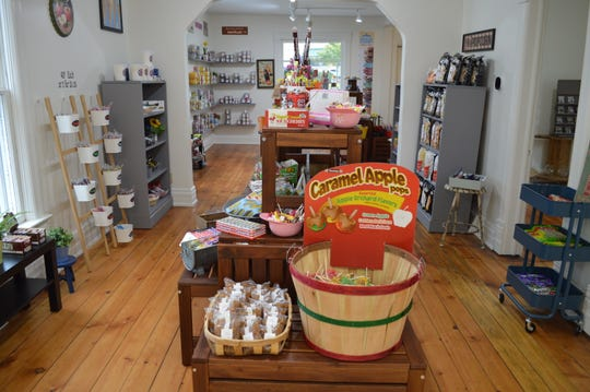 "In January, Kris Brill came up with the idea to open up an old-fashioned candy store. ""It just seemed like the right fit and something that would bring generations together,"" she said."